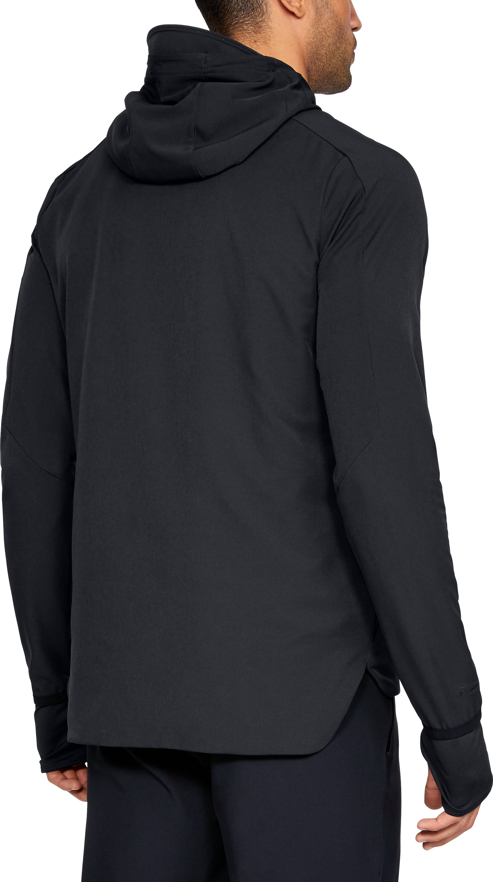 Men's UA Perpetual Jacket, Black ,