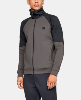 New Arrival Men's UA Perpetual Track Jacket  1  Color Available $100