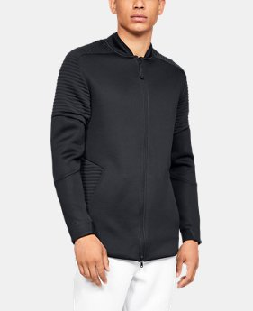 New Arrival Men's UA Unstoppable /MOVE Bomber Jacket  2  Colors Available $100