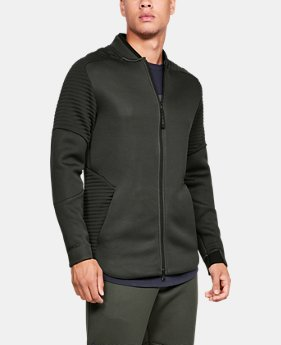New Arrival Men's UA Unstoppable /MOVE Bomber Jacket  1  Color Available $100