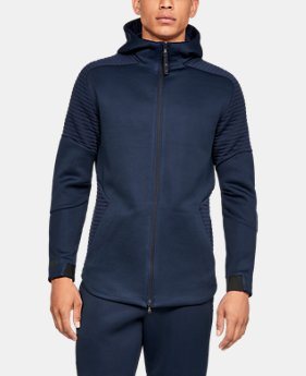 Men's UA Unstoppable /MOVE Full-Zip  5  Colors Available $100