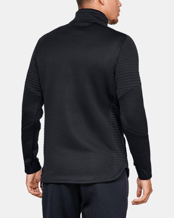 Men's UA Move ½ Zip, Black, pdpMainDesktop image number 2