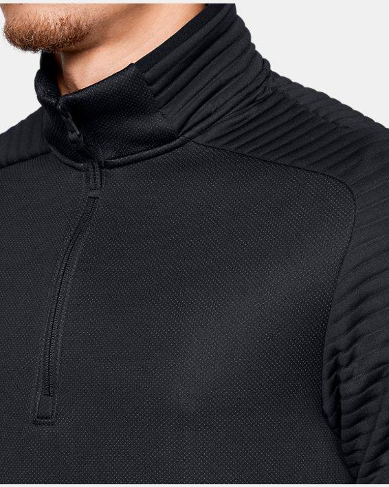 Men's UA Move ½ Zip, Black, pdpMainDesktop image number 6