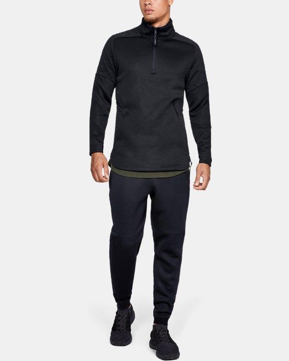 Men's UA Move ½ Zip, Black, pdpMainDesktop image number 1