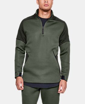 New Arrival Men's UA Unstoppable /MOVE ½ Zip  3  Colors Available $80