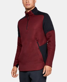 New Arrival  Men's UA Unstoppable /MOVE ½ Zip  1  Color Available $110