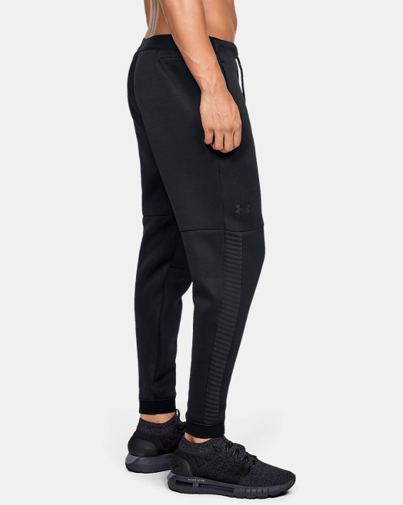 Men's UA Move Pants, Black, pdpMainDesktop image number 3