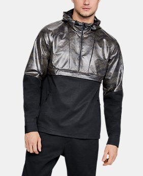 Men's UA Hybrid Windbreaker Anorak LIMITED TIME: 25% OFF 1  Color Available $90