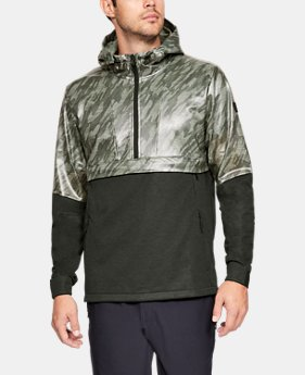 New to Outlet Men's UA Hybrid Windbreaker Anorak LIMITED TIME: 25% OFF 1  Color Available $90
