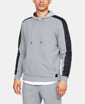 Men's UA Microthread Terry Hoodie  3  Colors Available $70