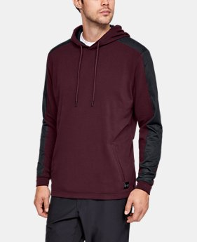 Men's UA Microthread Terry Hoodie  1  Color Available $85