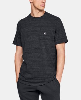 Men's UA Sportstyle Pocket T-Shirt  3  Colors Available $30