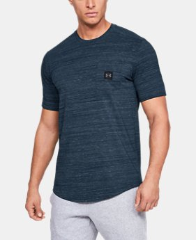 New Arrival Men's UA Sportstyle Pocket T-Shirt FREE U.S. SHIPPING 1  Color Available $30