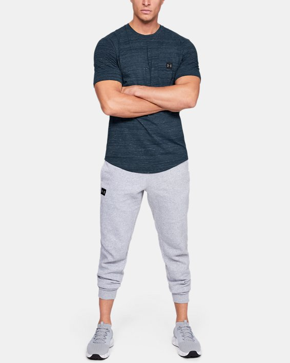 Men's UA Sportstyle Pocket T-Shirt, Navy, pdpMainDesktop image number 1
