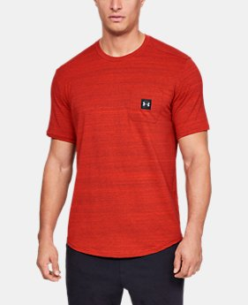 New Arrival  Men's UA Sportstyle Pocket T-Shirt  1  Color Available $35