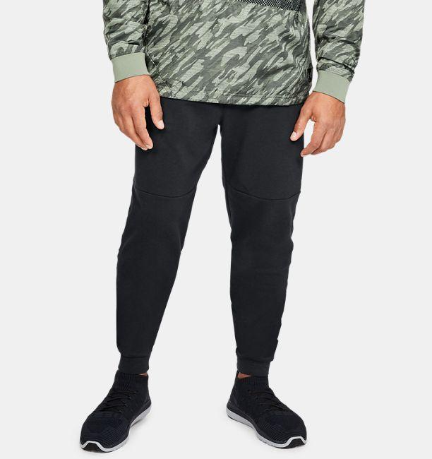 UA Microthread – Jogging en tissu éponge pour homme  2c6c1bb8347