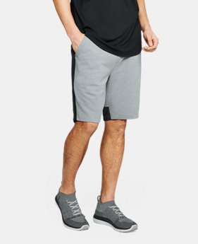 New Arrival  Men's UA Microthread Terry Shorts  2  Colors Available $70