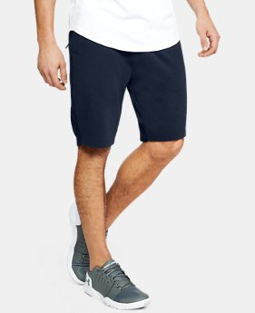 Men's UA Microthread Terry Shorts  1  Color Available $55
