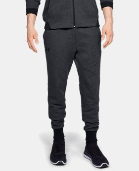 Men's UA Unstoppable Double Knit Joggers  1  Color Available $65