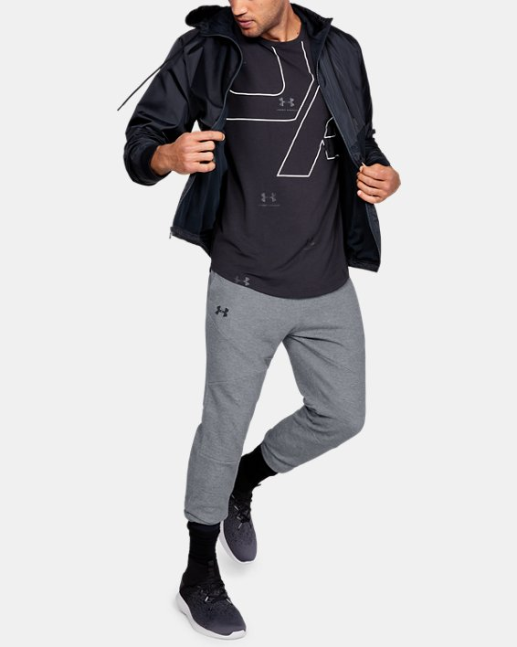 Men's UA Unstoppable Double Knit Joggers, Gray, pdpMainDesktop image number 1
