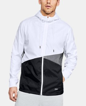 New Arrival Men's UA Unstoppable Windbreaker  1  Color Available $100