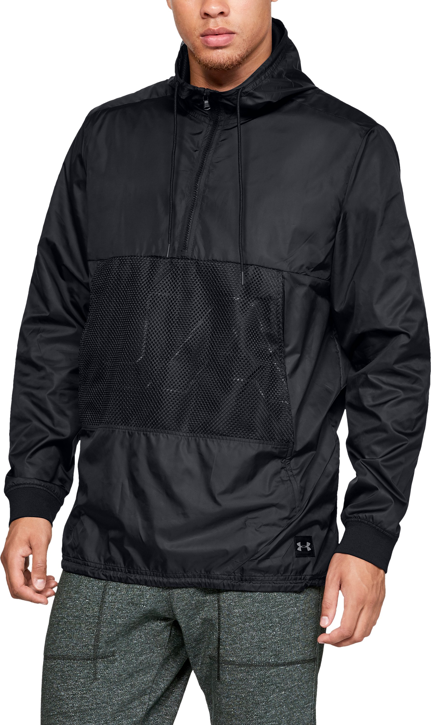 UNSTOPPABLE LONGLINE ANORAK, Black , zoomed