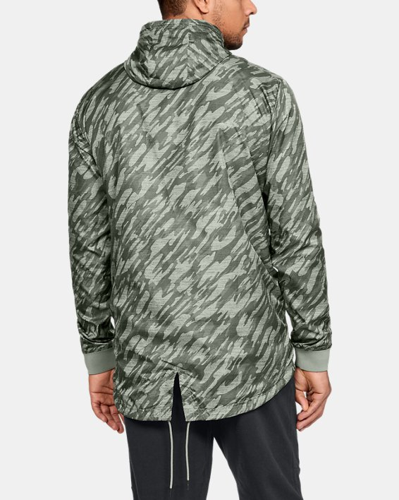 Anorak UA Sportstyle Longline pour homme, Green, pdpMainDesktop image number 2