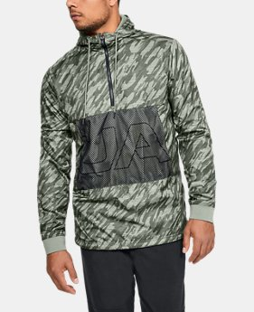 Best Seller Men's UA Sportstyle Longline Anorak Jacket  1  Color Available $110