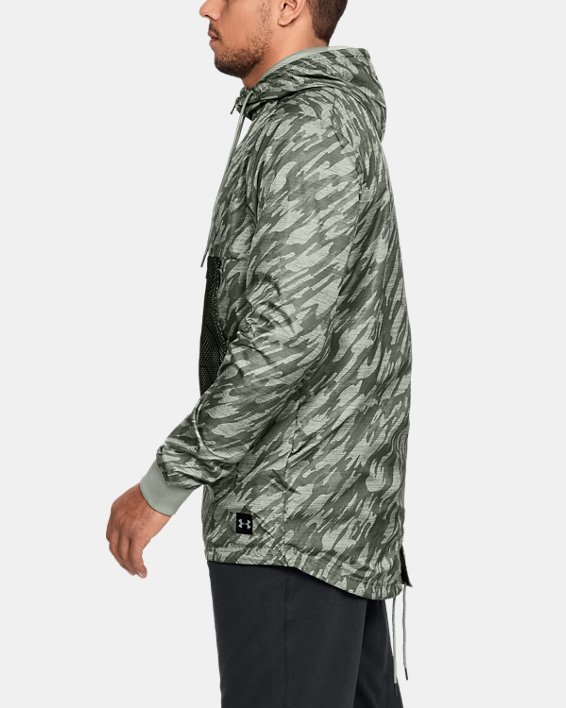 Anorak UA Sportstyle Longline pour homme, Green, pdpMainDesktop image number 3