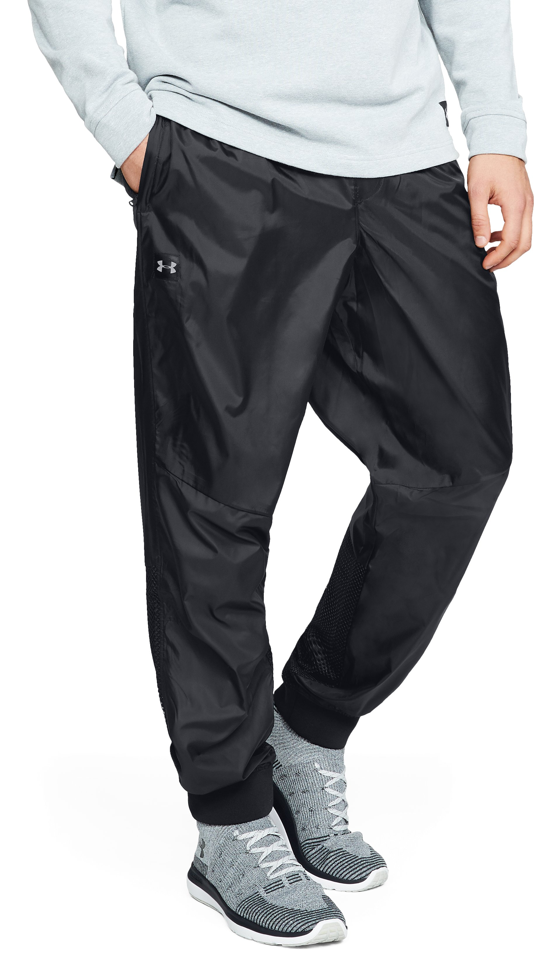Men's UA Unstoppable Wind Pants, Black