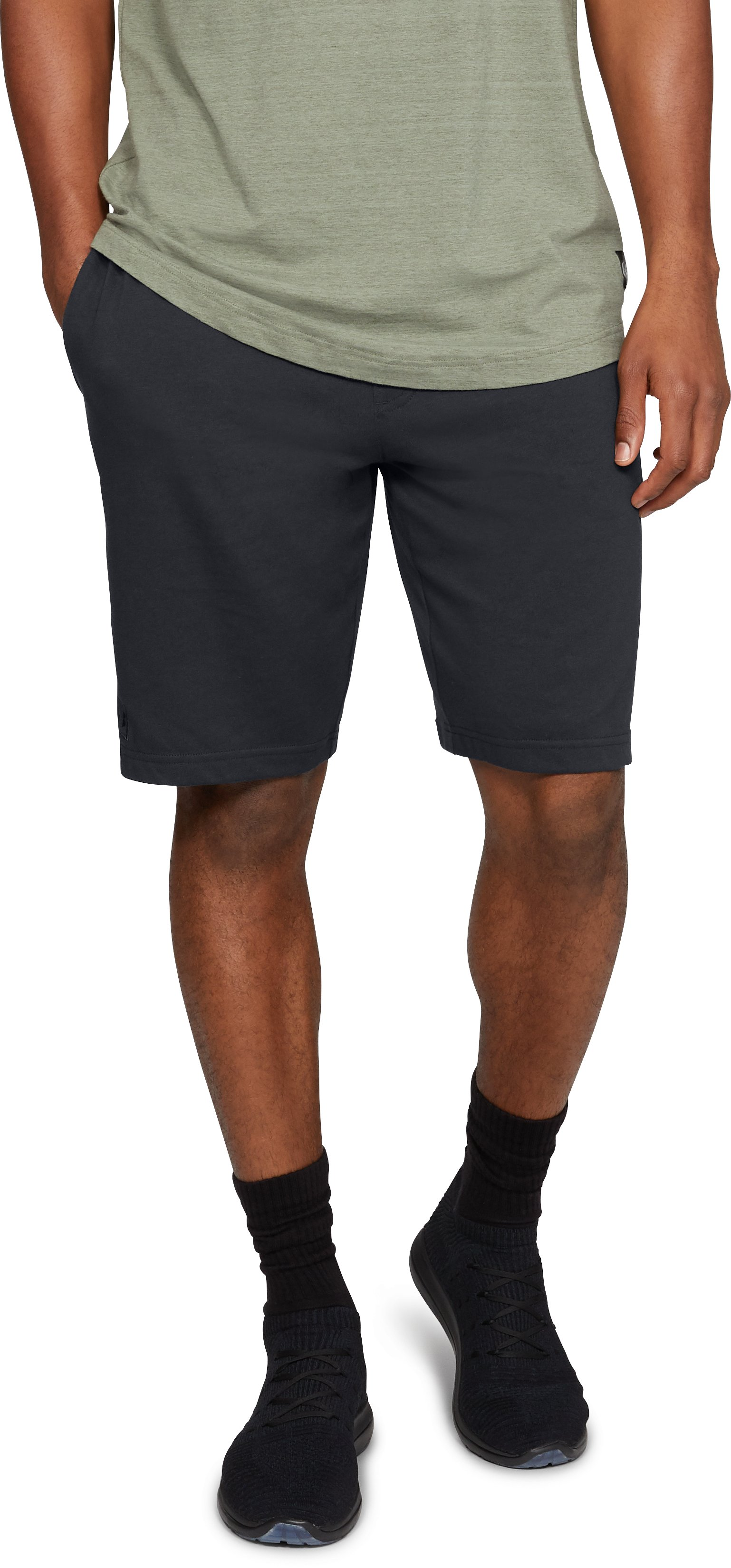 Men's UA Rival Shorts, Black