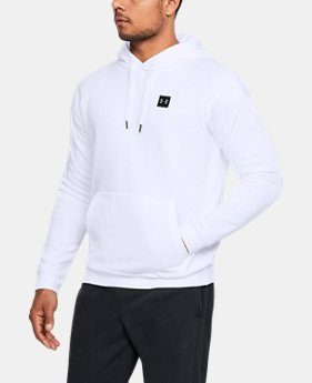 Best Seller Men's UA Rival Fleece Hoodie  1  Color Available $39.99 to $45