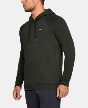 Best Seller Men's UA Rival Fleece Hoodie  2  Colors Available $45