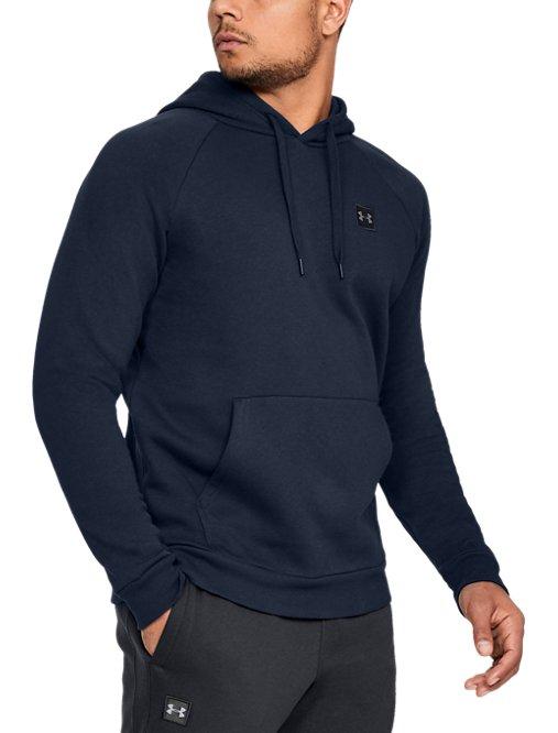 men s ua rival fleece logo hoodie under armour us