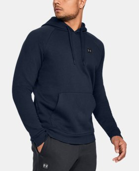 Best Seller Men's UA Rival Fleece Hoodie  7  Colors Available $45