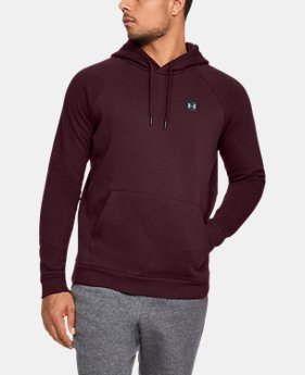 Best Seller Men's UA Rival Fleece Hoodie  1  Color Available $45