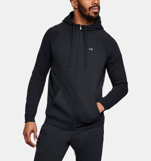 b98f72fc4 Men's UA Rival Fleece Full-Zip | Under Armour US