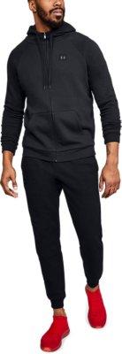 Under Armour Mens Rival Fleece Full-zip Zip Up Sweatshirt