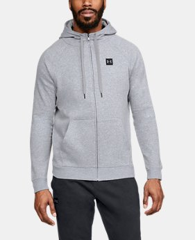 80bcc012f18947 Best Seller Men s UA Rival Fleece Full-Zip 4 Colors Available  55