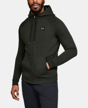 Men's UA Rival Fleece Full-Zip LIMITED TIME ONLY 1  Color Available $49
