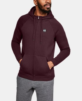 Men's UA Rival Fleece Full-Zip LIMITED TIME ONLY 1  Color Available $38.5