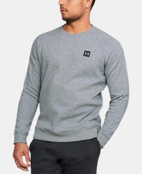 2bc14b83c9 Gray Loose Crew Neck Sweatshirts   Under Armour US