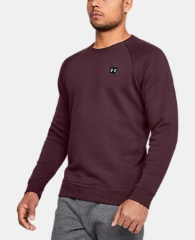 Men's UA Rival Fleece Crew  1  Color Available $50
