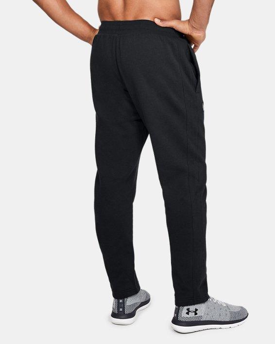 Pantalon UA Rival Fleece pour homme, Black, pdpMainDesktop image number 2