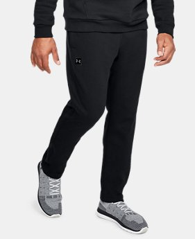 Best Seller Men's UA Rival Fleece Pants  1  Color Available $45