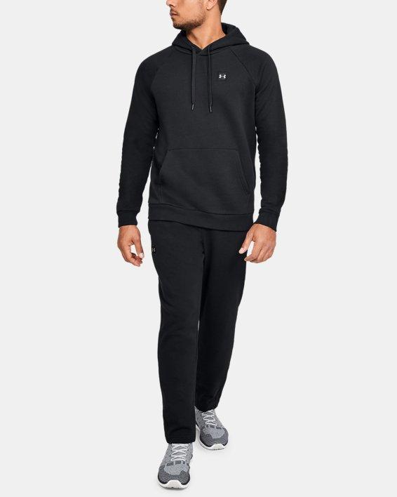 Pantalon UA Rival Fleece pour homme, Black, pdpMainDesktop image number 1