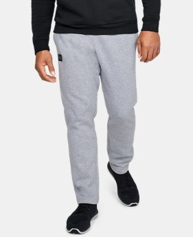 Men's UA Rival Fleece Pants  1  Color Available $45