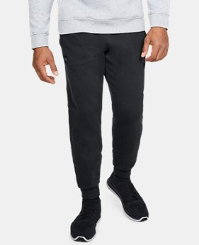 New Arrival Men's UA Rival Fleece Joggers FREE U.S. SHIPPING 4  Colors Available $50