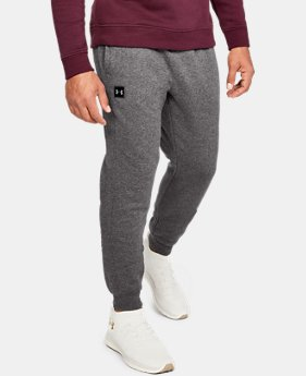 Men's UA Rival Fleece Joggers 30% OFF ENDS 11/26 4  Colors Available $35