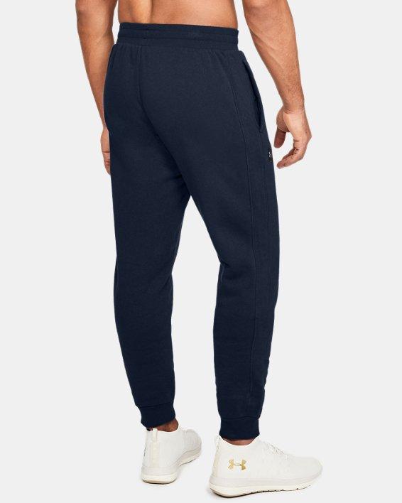 Pantalon de jogging UA Rival Fleece pour homme, Navy, pdpMainDesktop image number 2